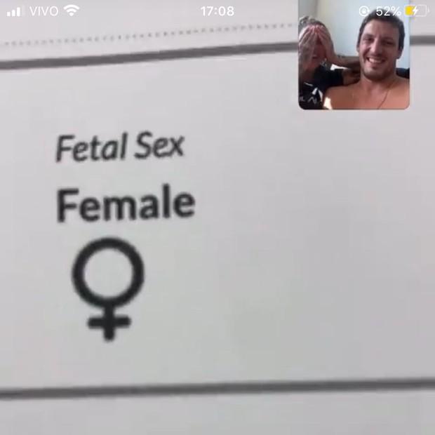 Dani Bolina e Thiago Rela anunciam sexo do bebê que esperam (Foto: Reprodução/Instagram)