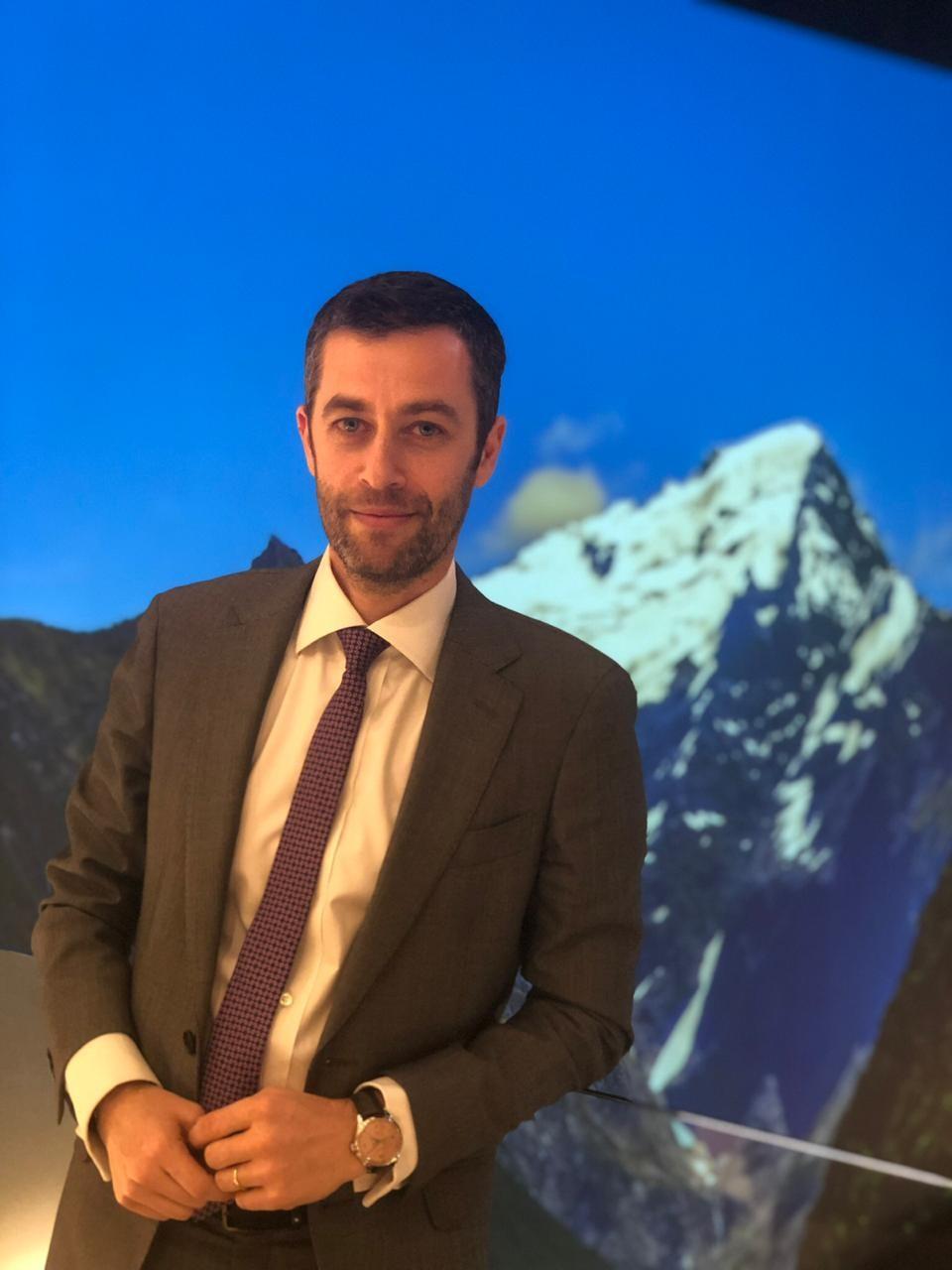 Vincent Montalescot, vice-presidente executivo de marketing da Montblanc (Foto: Rodrigo Peirão)