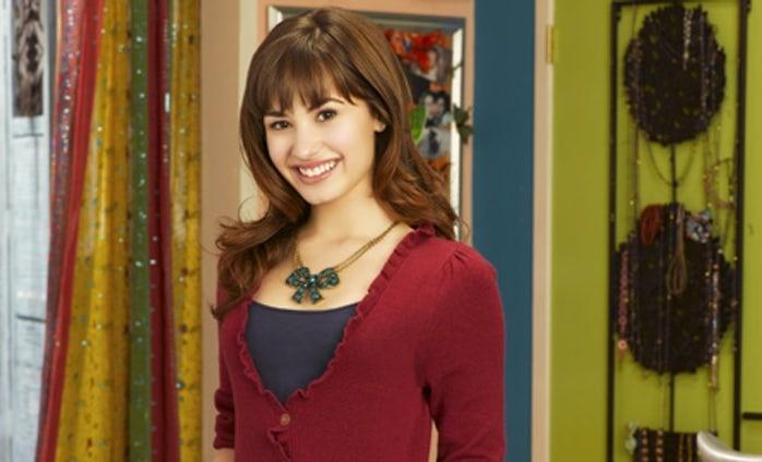 A cantora Demi Lovato em sua época de estrela do Disney Channel (Foto: Reprodução)