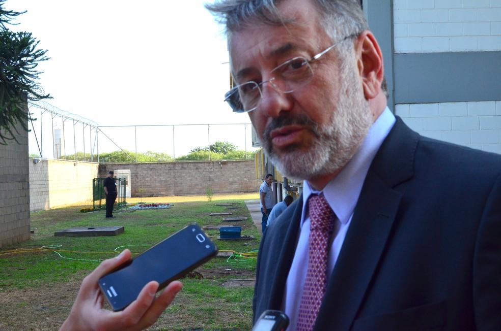 Advogado Márcio Fernando Elias Rosa — Foto: Thayná Cunha/G1