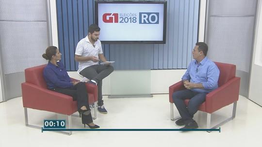 Ao G1, Maurão de Carvalho propõe que policiais sejam pagos para trabalhar na folga e promete substituir Hospital João Paulo II pelo Heuro