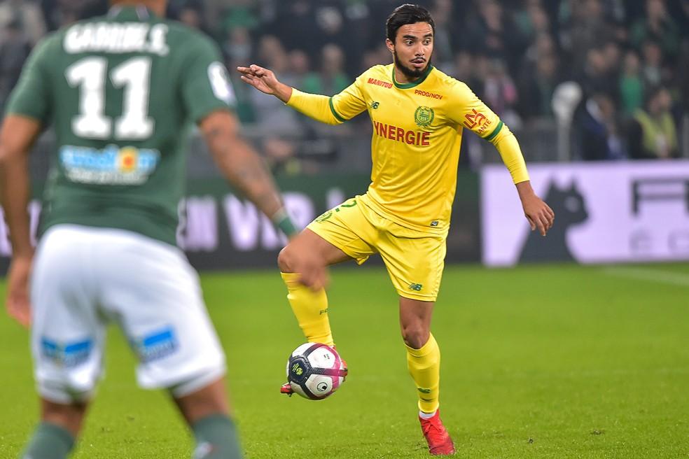 Fabio da Silva ainda está buscando se consolidar no Nantes — Foto: AFP