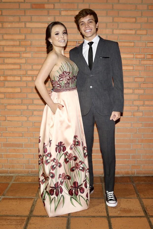 Larissa Manoela e Leonardo Cidade (Foto: Manuela Scarpa/Brazil News)