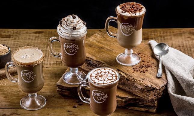 Cafés da rede Megamatte