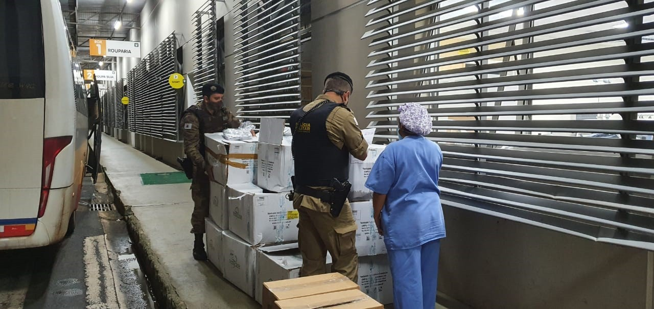 Uberlândia e Monte Carmelo recebem mais 38 respiradores para o tratamento de pacientes com a Covid-19