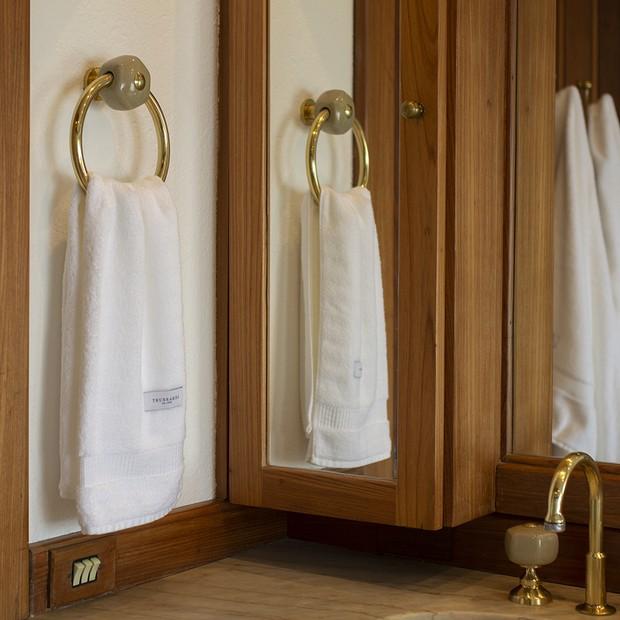 Tolhas Doppia têm fios de algodão que garantem maciez, boa absorção e durabilidade  (Foto: Divulgação)