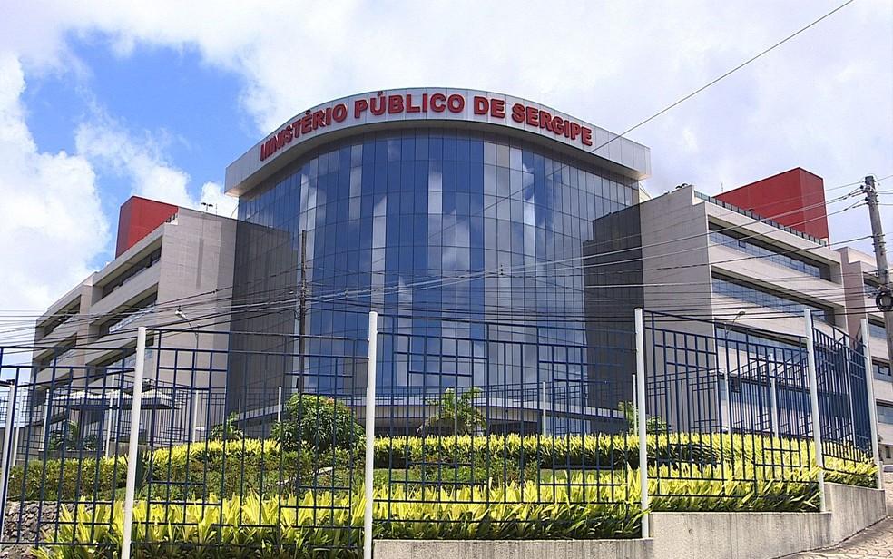 Fachada Ministério Público de Sergipe, MPE Sergipe, MPE/SE — Foto: Reprodução/TV Sergipe