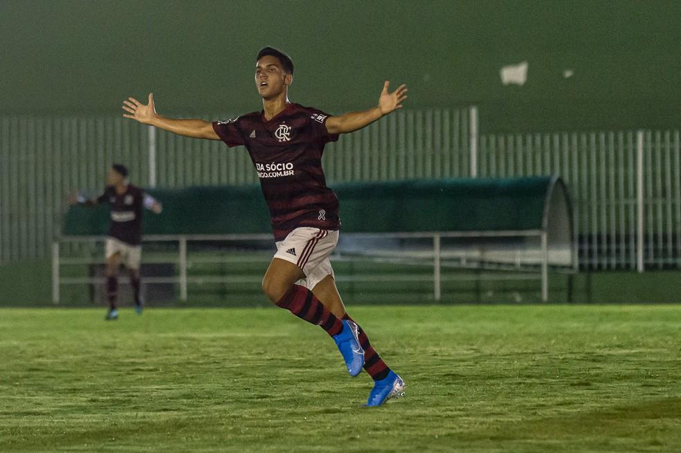 Yuri de Oliveira Flamengo — Foto: Marcelo Cortes / Flamengo