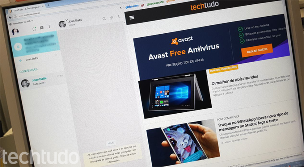 Extensão para Firefox divide a tela e mantém WhatsApp durante