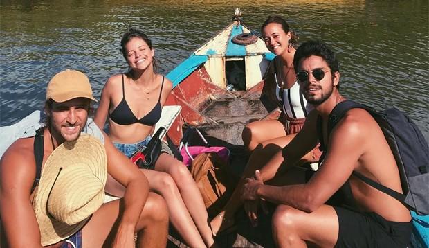 Eduardo Scarpa, Ágatha Moreira, Mariana Covino e Rodrigo Simas (Foto: Reprodução / Instagram)