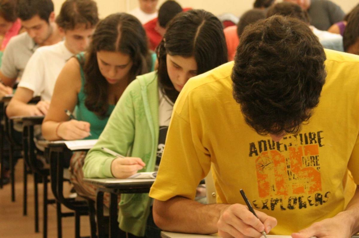 Estudantes prestam a prova do ENEM (Foto: Agência Brasil)