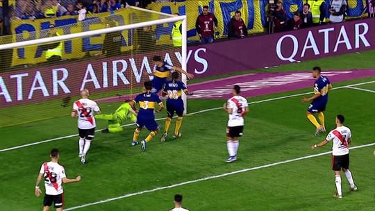 Gol anulado e mais: veja os melhores momentos de Boca Juniors 1 x 0 River Plate, pela Libertadores