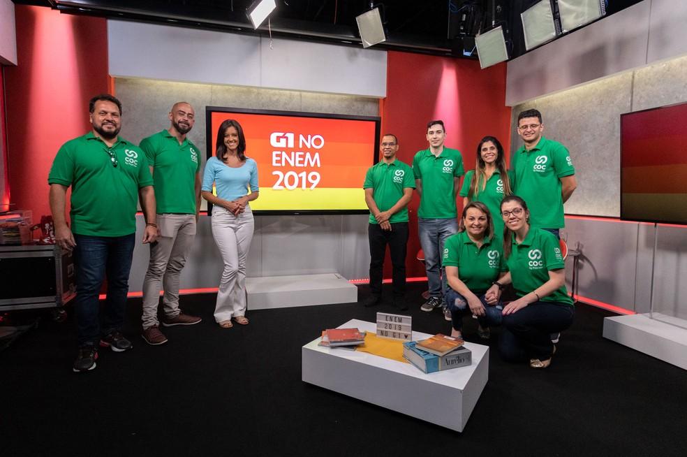 Enem 2019 - G1 terá programa ao vivo com a correção das questões — Foto: Marcelo Brandt/G1
