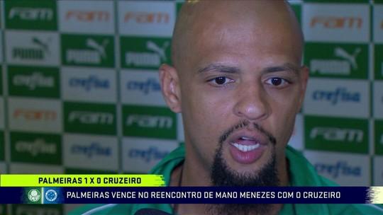 Felipe Melo celebra retomada de confiança e fala sobre relação com Ceni