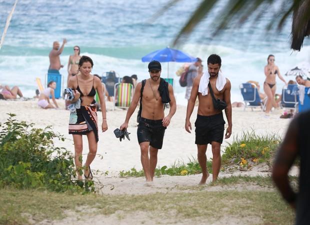 Agatha Moreira, Rodrigo Simas e Juliano Laham (Foto: Dilson Silva/ AgNews)