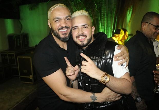 Belo e G15 (Foto: AgNews)