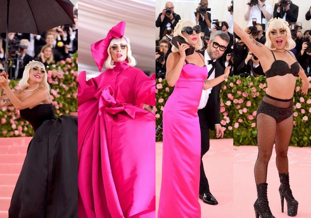 Lady Gaga no Met Gala (Foto: Getty Images)