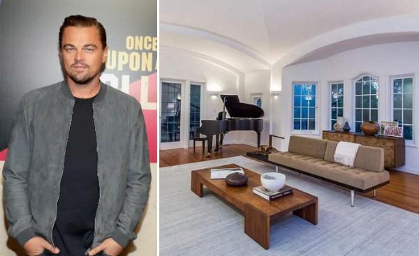 A mansão de US$4,9 milhões comprada pelo ator Leonardo DiCaprio (Foto: Getty Images/Divulgação)