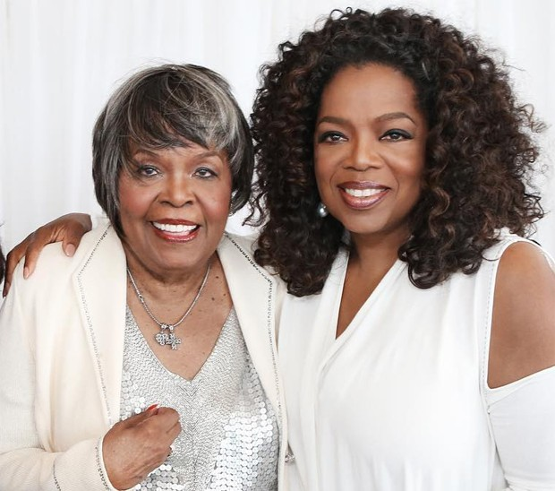 Oprah Winfrey e a mãe, Vernita Lee (Foto: Reprodução/Instagram)