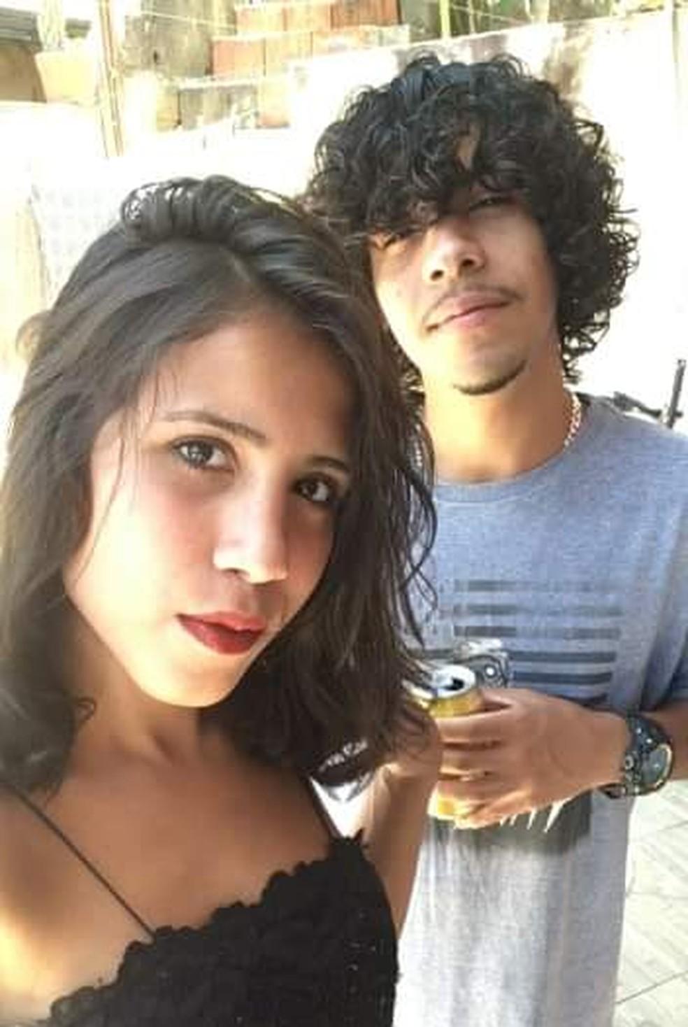 Rayssa e o primo Guilherme — Foto: Arquivo Pessoal