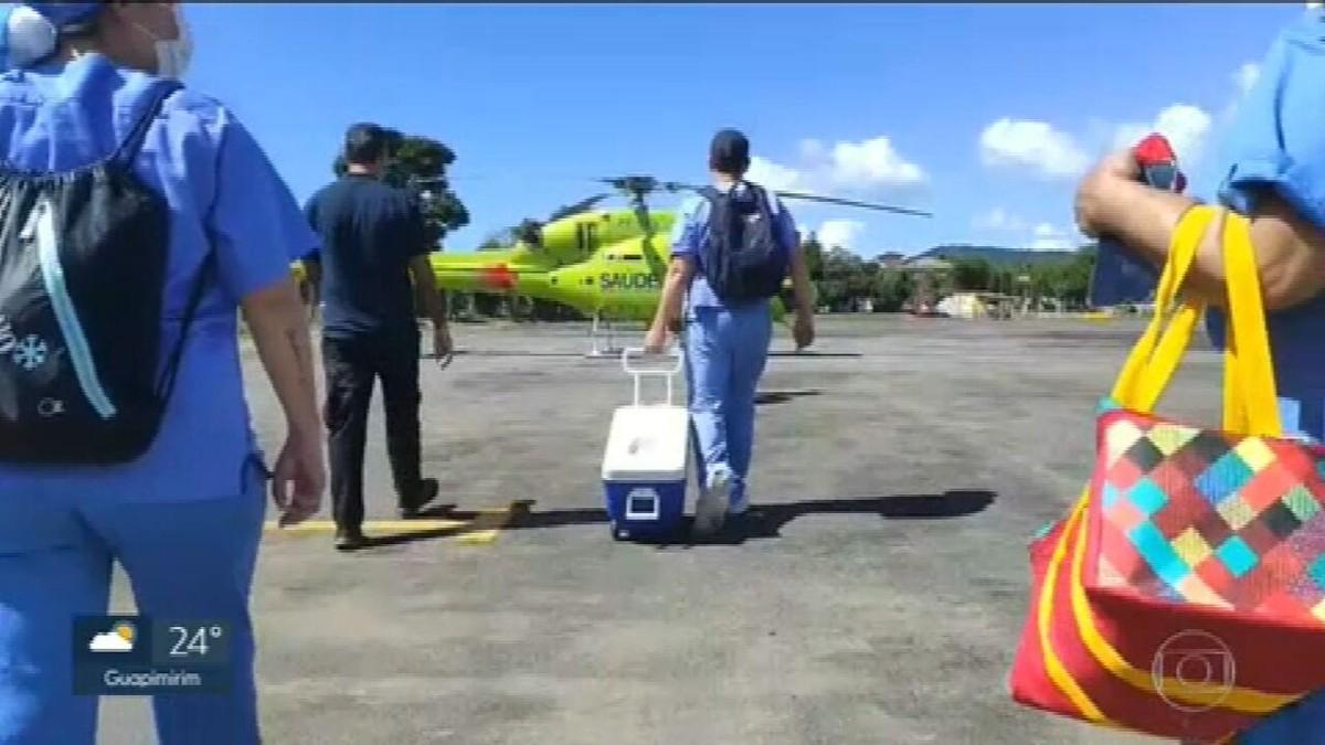 Operação da Secretaria de Saúde do RJ transporta órgãos para transplantes em quatro adolescentes