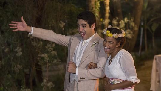 Quincas e Dita se casam