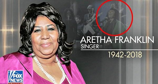 Aretha Franklin e Patti LaBelle (ao fundo) (Foto: Reprodução / FOX News)