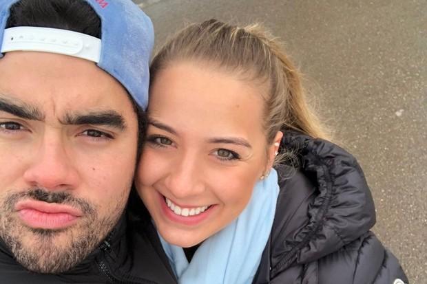 Karoline Calheiros e Gabriel Diniz (Foto: Reprodução/Instagram)