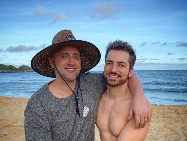 Paulo Gustavo e o marido, Thales Bretas (Foto: Reprodução Instagram)