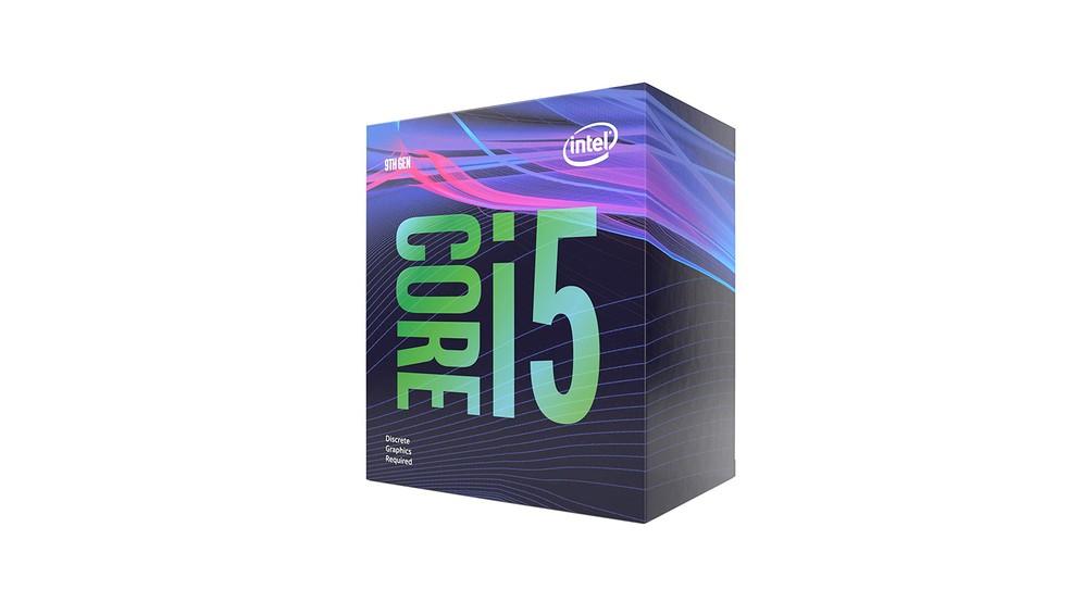 Em geral, processador Core i5 9400F, da Intel, tem performance inferior — Foto: Divulgação/Intel