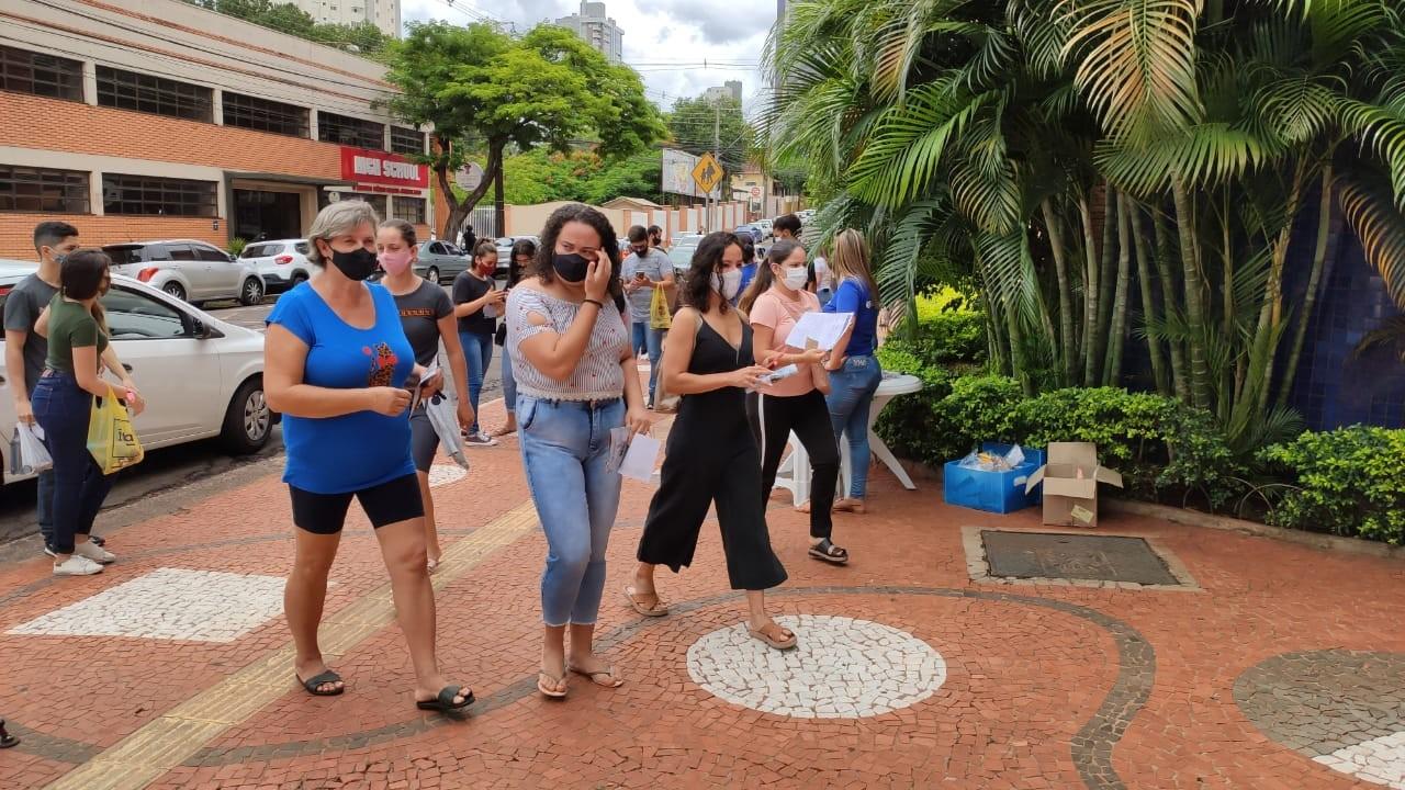 Enem 2020: Veja FOTOS do primeiro dia de provas no Paraná, neste domingo (17)