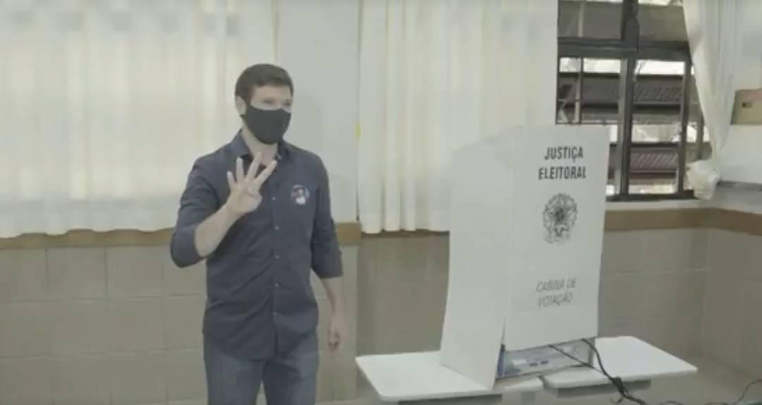 Candidato à Prefeitura de Londrina Tiago Amaral (PSB)