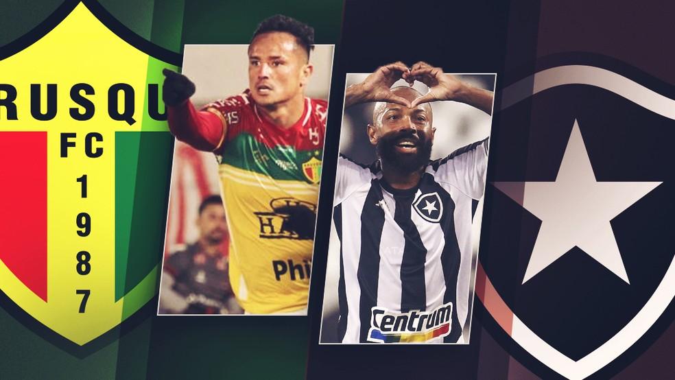 Brusque x Botafogo tem com Edu e Chay duelo dos jogadores mais decisivos da  Série B | brasileirão série b | ge