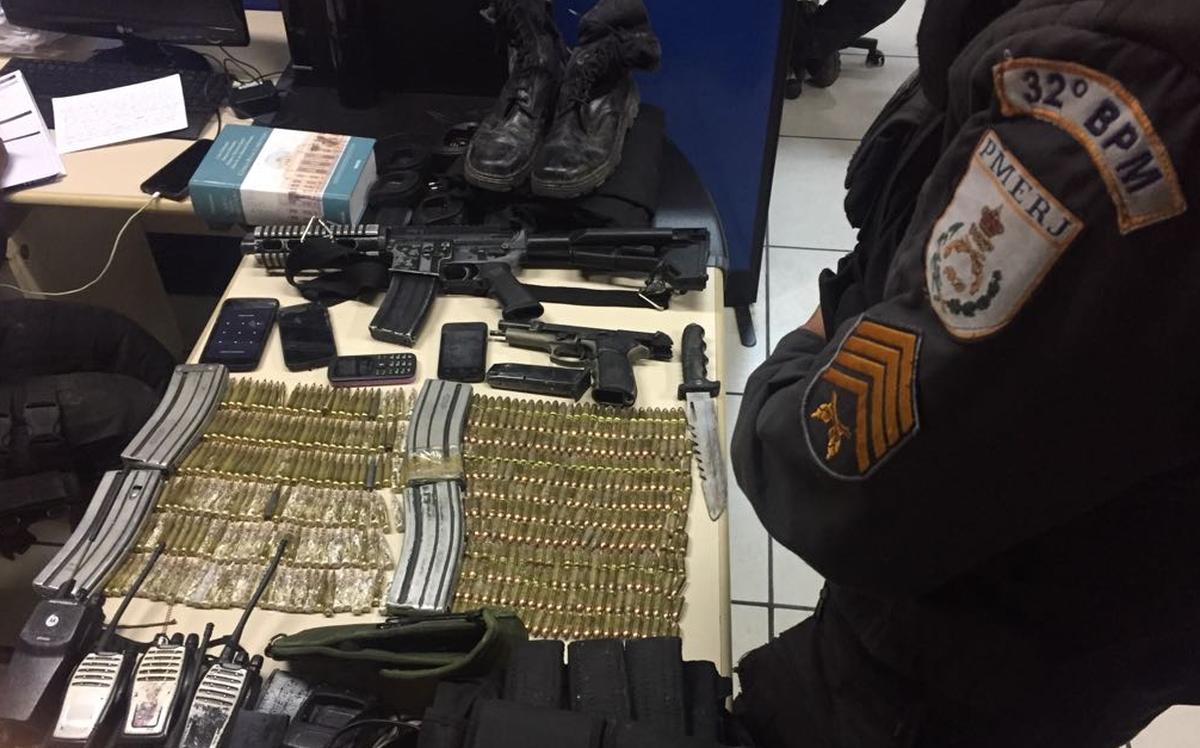 Polícia Militar apreende fuzil e munição em Macaé, RJ, onde cabo da PM foi morto