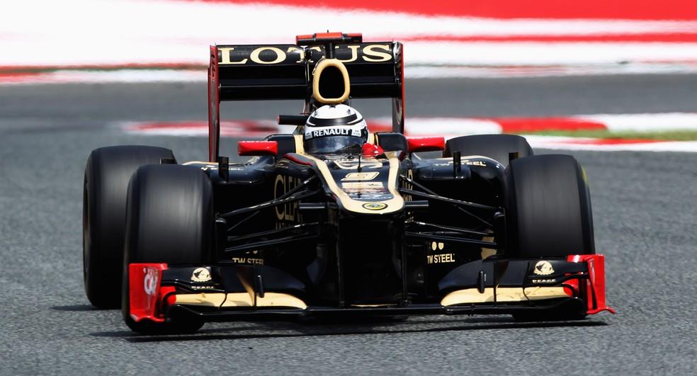 Kimi Raikkonen chegou em terceiro lugar no campeonato de 2012 (Foto: Mark Thompson/Getty Images)