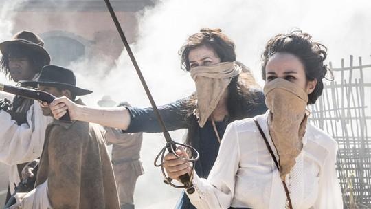 Reta final: Joaquina, Virgínia e Mão de Luva invadem Vila Rica prontos para a guerra