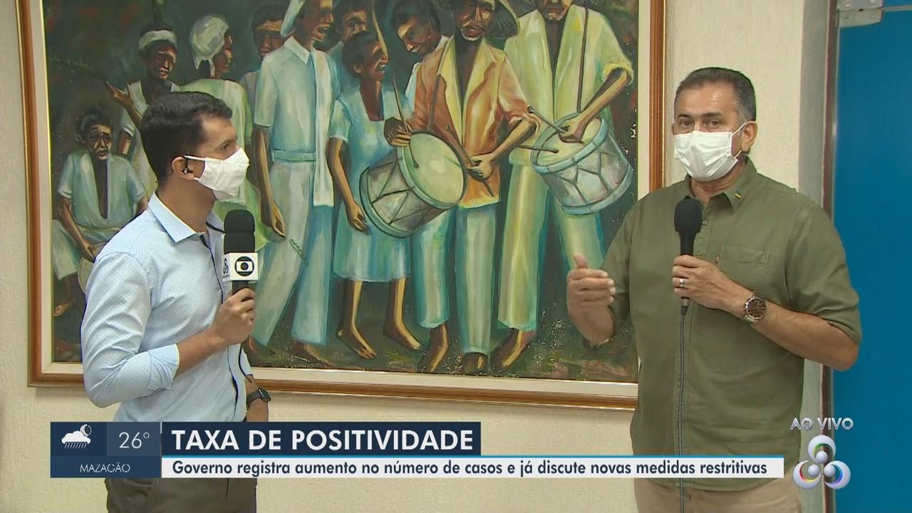 Amapá registra alta na contaminação pela Covid-19 e prevê medidas mais restritivas