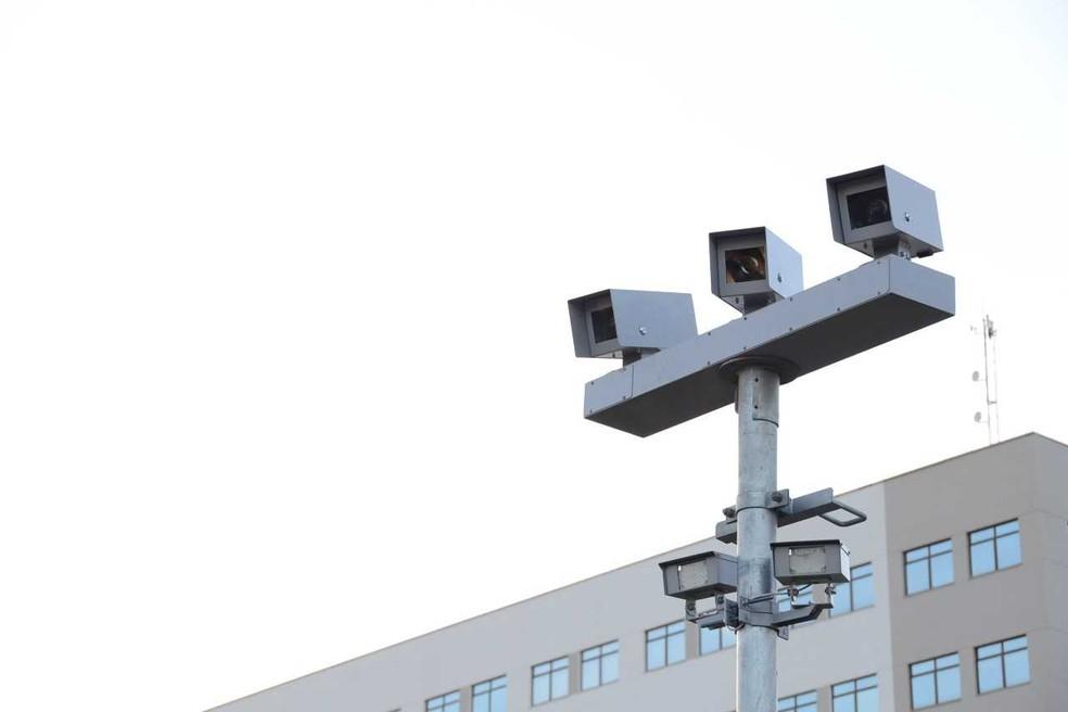 Radares monitoram vários pontos de Palmas — Foto: Prefeitura de Palmas/Divulgação