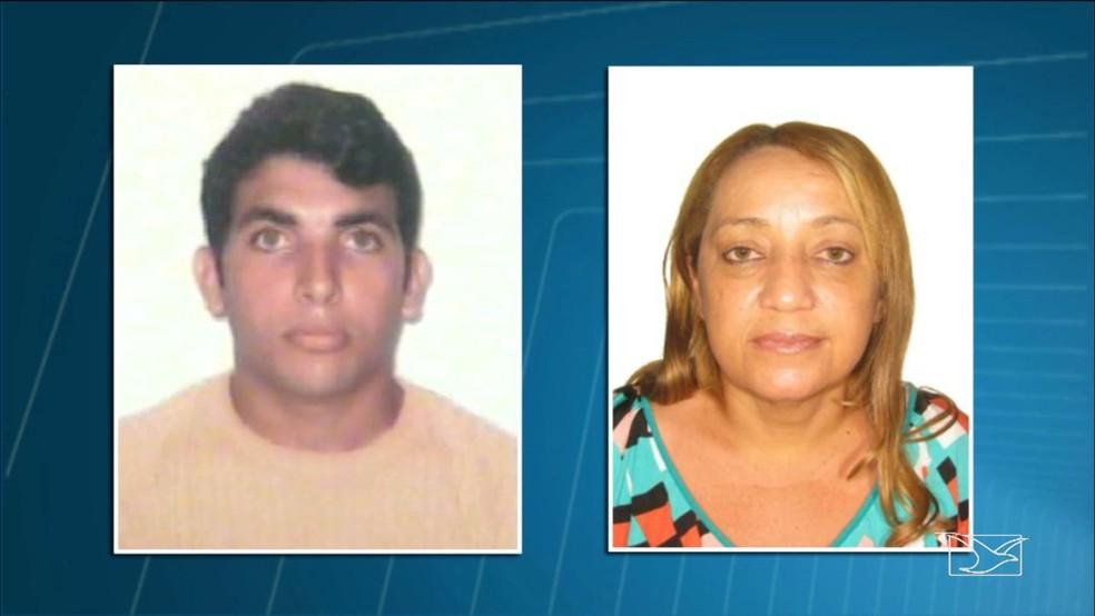 Roberto Machado Rodrigues e Maria Evarista Queiroz são suspeitos de fraudar benefícios do INSS no Maranhão. (Foto: Reprodução/TV Mirante)