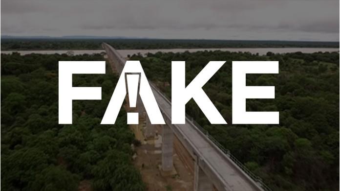 É #FAKE que ponte ferroviária no Nordeste foi concluída em 11 meses durante o governo Bolsonaro | Fato ou Fake | G1