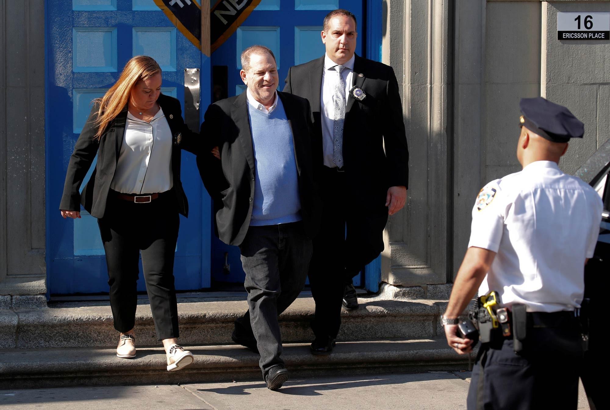 Harvey Weinstein enfrentará ação civil de atriz que o acusa de tráfico sexual 2