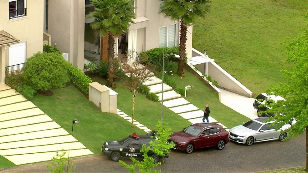 Grupo é preso em operação do DEIC — Foto: Reprodução/TV Globo
