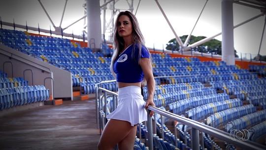 Representante do Goianésia, Andressa Jordana é eleita Musa do Goianão