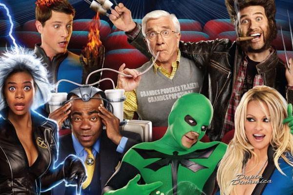A trupe superpoderosa de Super-Herói: O Filme (2008) (Foto: Reprodução)