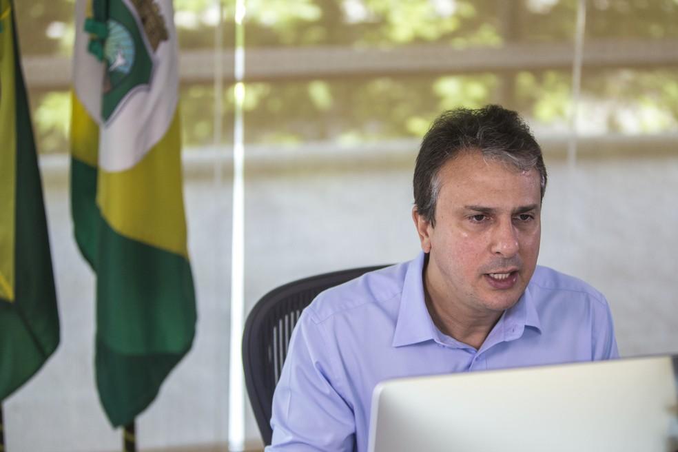 Camilo Santana anuncia reajuste dos servidores públicos (Foto: José Wagner/Governo do Estado)