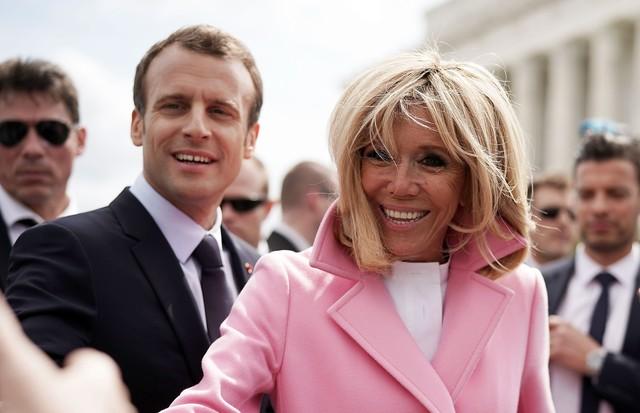 Emmanuel e Brigitte Macron (Foto: Getty Images)