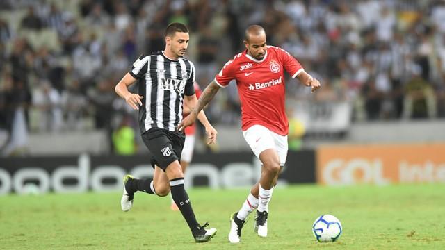 Thiago Galhardo, Patrick, Ceará x Inter