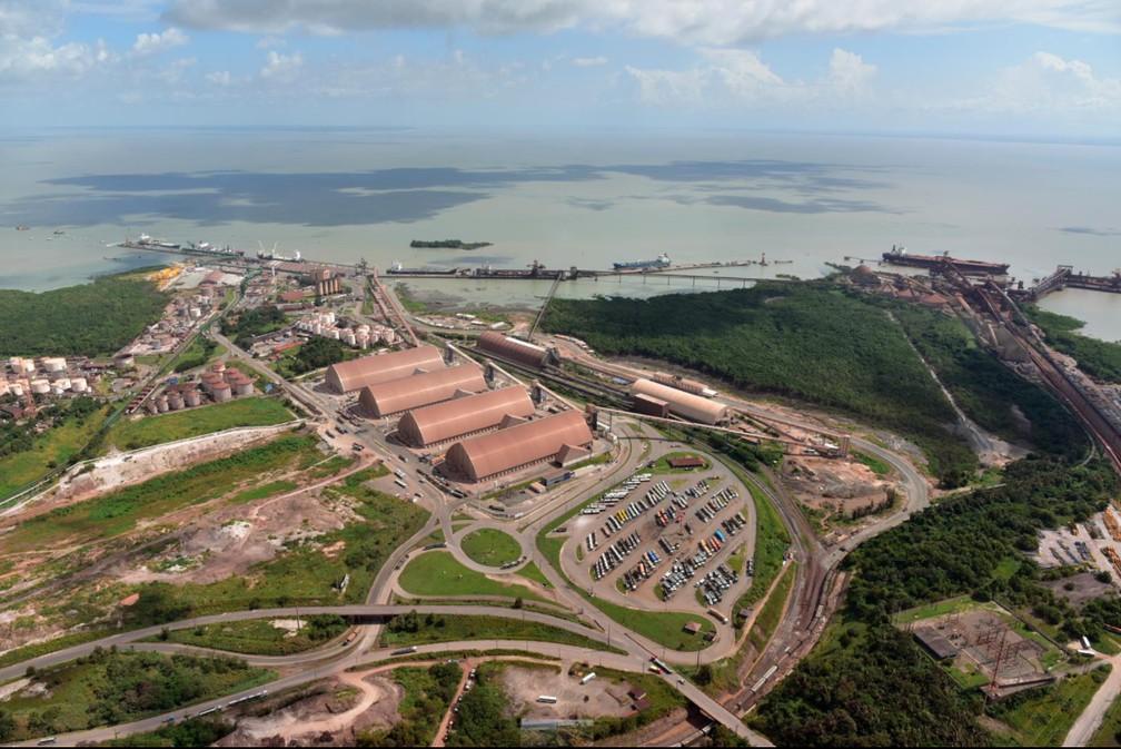 Porto de Itaqui (MA) — Foto: Divulgação/Antaq/Porto de Itaqui
