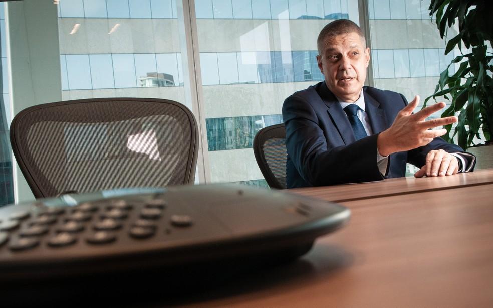 Luiz Fernando Vianna, da Delta Energia Asset Management, negocia com a Aneel nova outorga para a usina enquanto busca o fornecedor de gás natural — Foto: Ana Paula Paiva/Valor