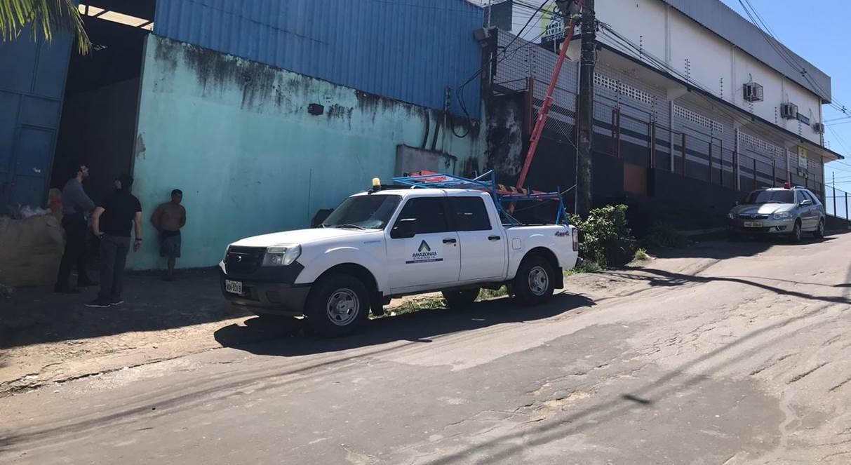 Operação flagra furto de energia em fábrica de reciclagem em Manaus - Notícias - Plantão Diário